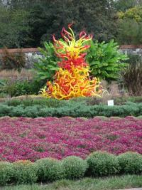 Chihuly glass at Biltmore