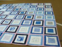 Granddaughters Square in a Square Wedding Quilt