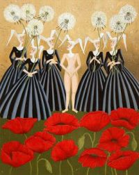 nuns and poppies