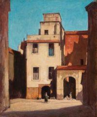 David Young Cameron (Scottish,1865–1945), Pietros, Rome