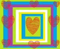 Frames & Hearts Doodle