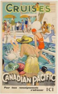 Themes Vintage illustrations/pictures - Canadian Pacific Cruises 1934