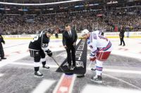 Ceremonial Puck Drop with The Great One