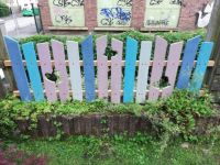Grandmas new fence