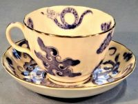 Antique Royal Worcester China Teacup