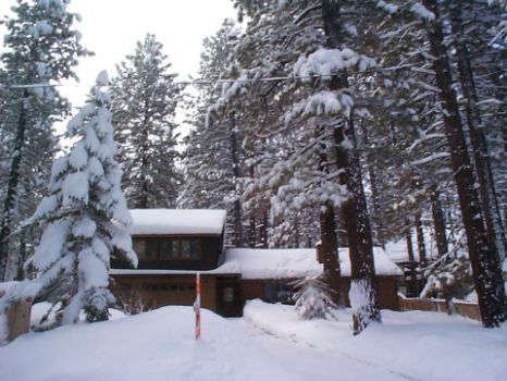 Winter at my old home in Big Bear lake