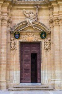 Church Doors in Gozo