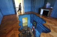 Painted floors to walk on when fully awake