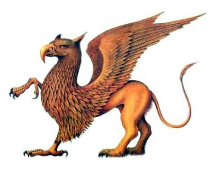 THEME: Mythical creatures: Griffin