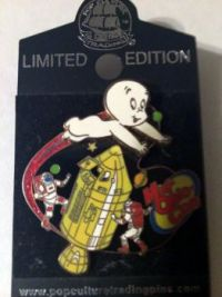 Pop Culture Pin Trading Co. Mid-Ohio Con exclusive Casper pin