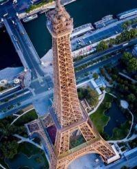 Unique Eiffel Tower View