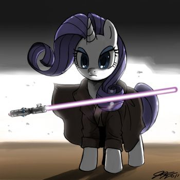 MLP: Jedi Rarity by John Joseco