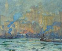 Jonas Lie, Afterglow (c. 1913)