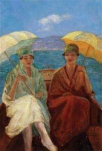Women With Umbrellas by RefetBasokçu