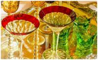 Colourful Glass Barware
