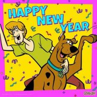 HAPPY NEW YEAR SCOOBY!