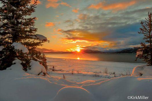 Sunrise in Idaho 1_1_2016