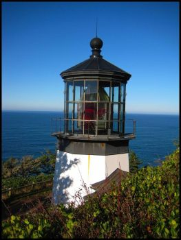 Cape Meares Lighthouse!