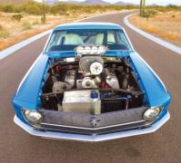 1970 Ford Mustang Boss 429 Lawman front
