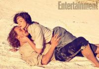 Jamie and Claire beached