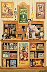 Themes Vintage illustrations/pictures - The Apothecary