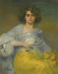 Ramon Casas i Carbó - Julia Peraire (1908)