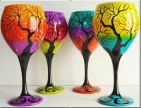 Colourful Goblets