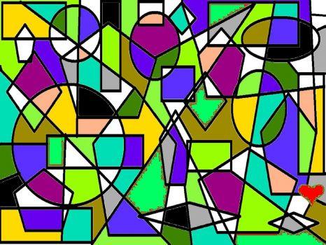 Geometric Fun - Medium