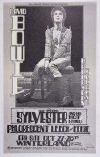 Vintage poster Winterland, San Francisco 1972