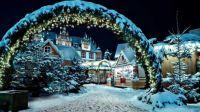 Christmas in Tivoli, Copenhagen, Denmark