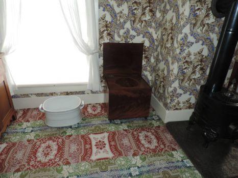 Mary Lincoln's Bathroom