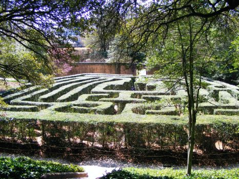 Labyrinth at Historic Williamsburg VA