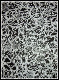 Art - Colouring - Liberty Colouring Book - Poppy and Daisy - Black & White (Small)
