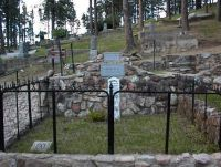 Wild Bill's grave, South Dakota