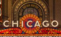 Chicago Theatre Marquee by Chris Smith on JIGIDI