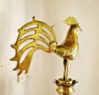 Rooster Oil Lamp