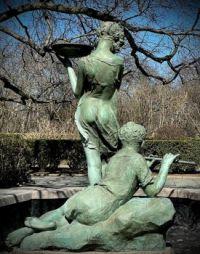 Burnett Fountain, Central Park, NYC