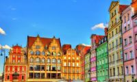 Houses on Market Square, Wrocław, Poland