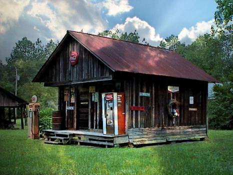 Old Store, Lanier Co., GA