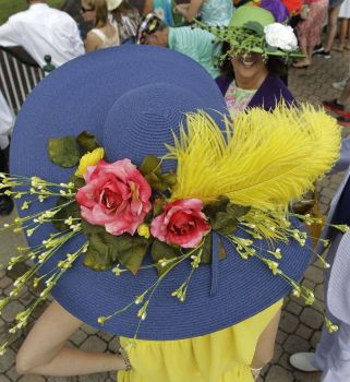 It's the Kentucky Derby!  Where's your hat?