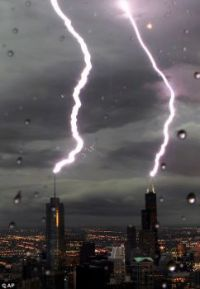 Lightning strikes Twice in Chicago!