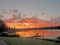 Another sunset over Lake Burien, Burien, WA