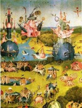 The garden of earthly delights, Jeromius Bosch, 1515
