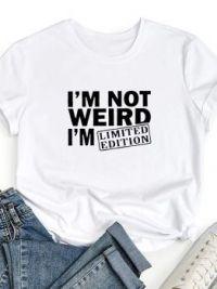 I'm not weird......