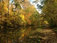 C&O Canal Towpath in the Fall
