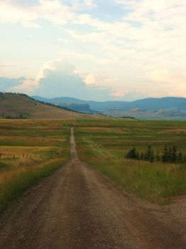 Long road to nowhere in Montana