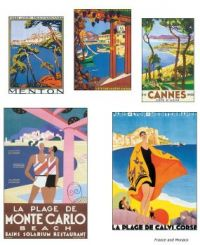Travel poster - The South of France