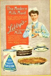 Themes Vintage ads - Libby`s evaporated Milk