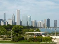 USA – Chicago Skyline (View from the Shedd Aquarium)