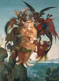 Michelangelo-The Temptation of the Cat